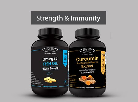 Strength Immunity Curcumin