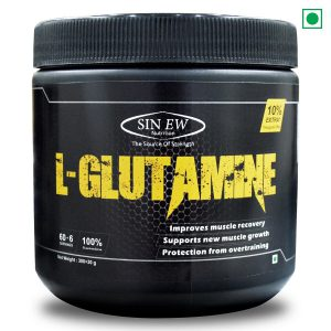 Sinew Nutrition 100% Pure L-Glutamine Powder