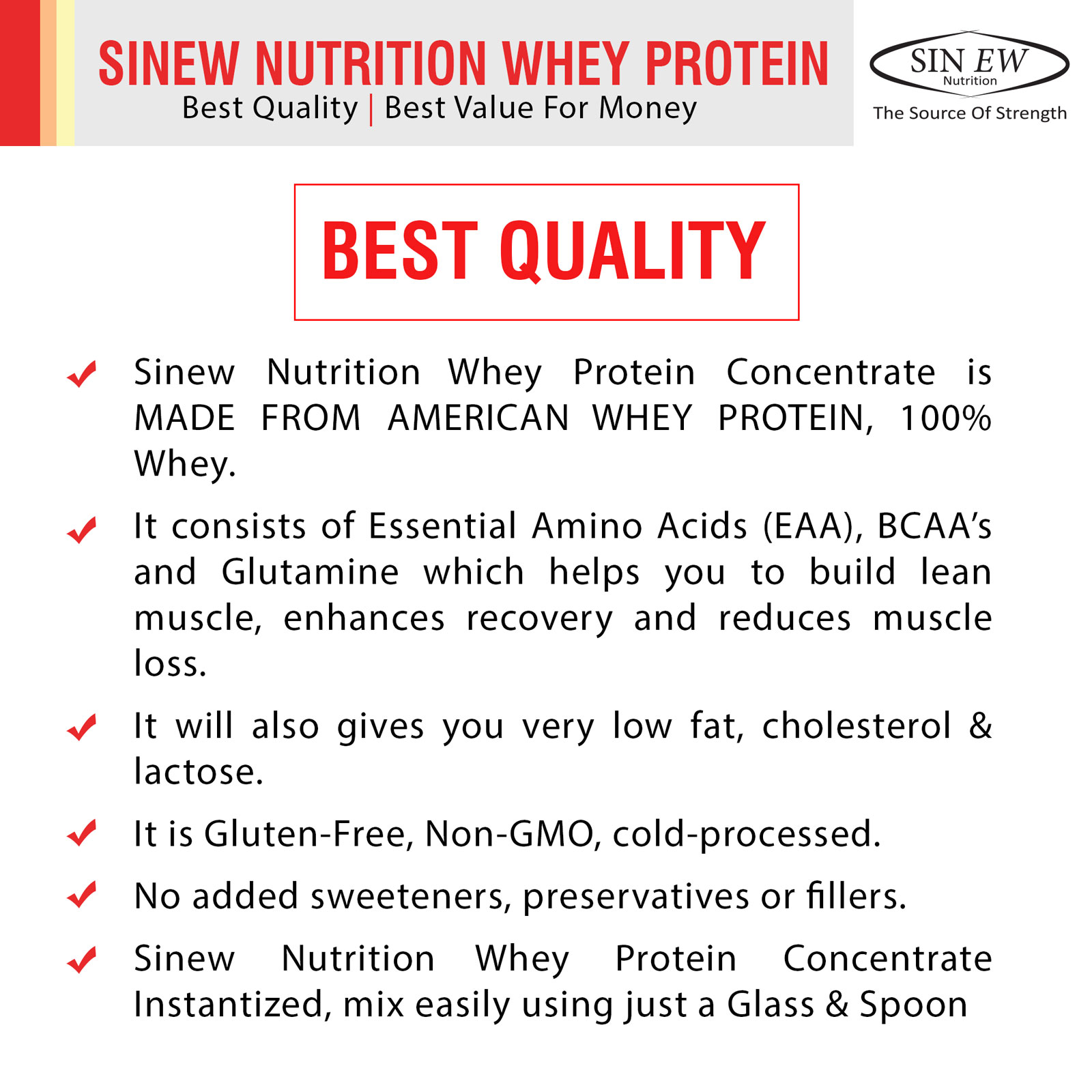 Whey Protein Best Qualtiy