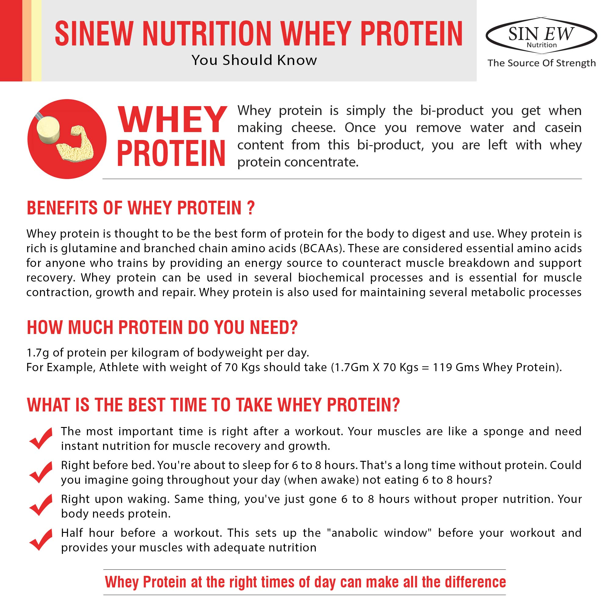 Whey Protein Image Red