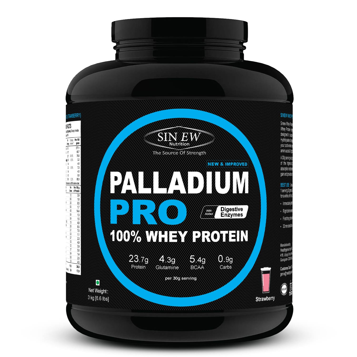 Palladium Pro (strawberry) 3 F