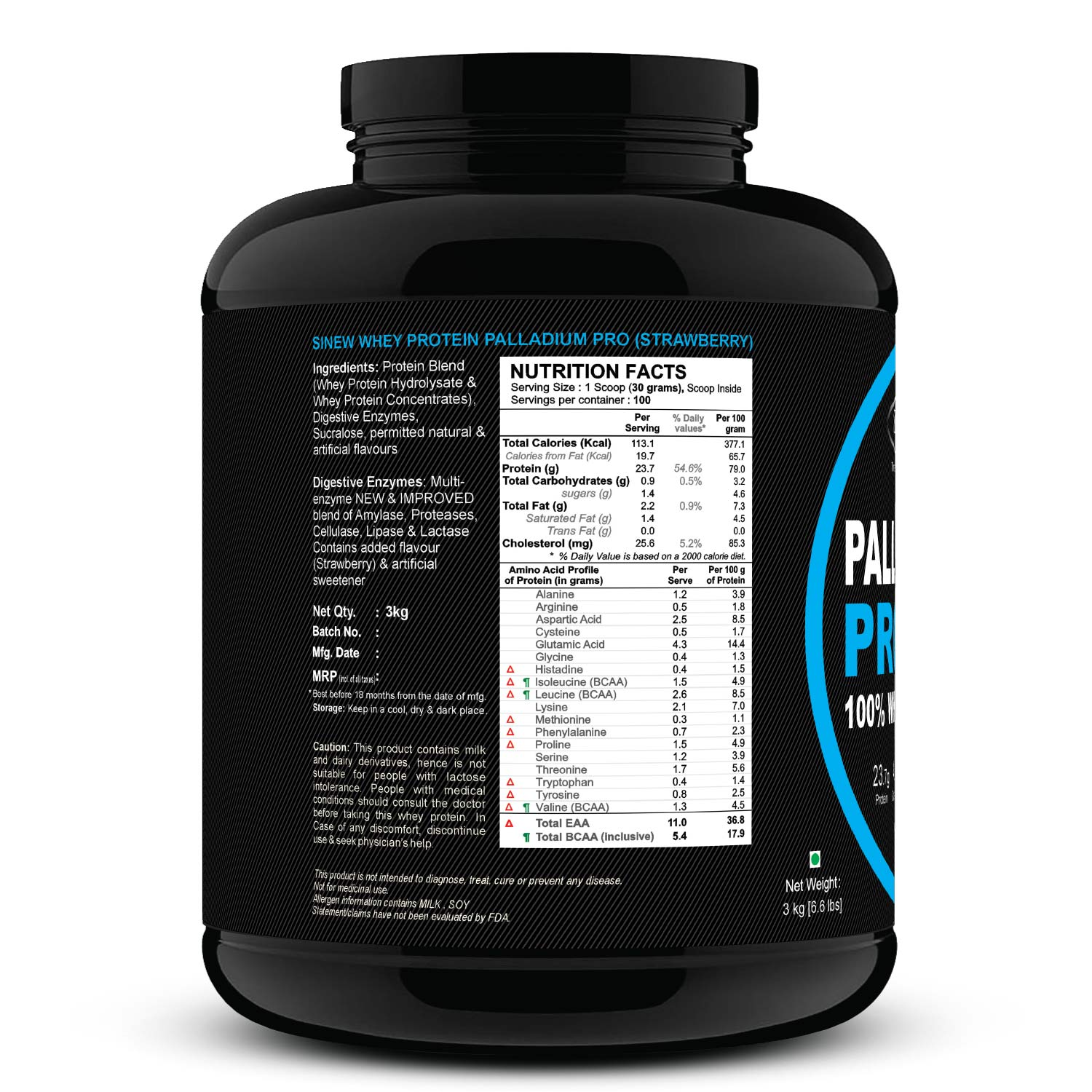 Palladium Pro (strawberry) 3 L