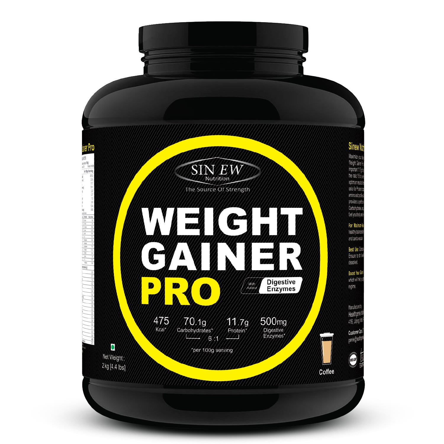 Weight Gainer Pro (coffee) 2 F
