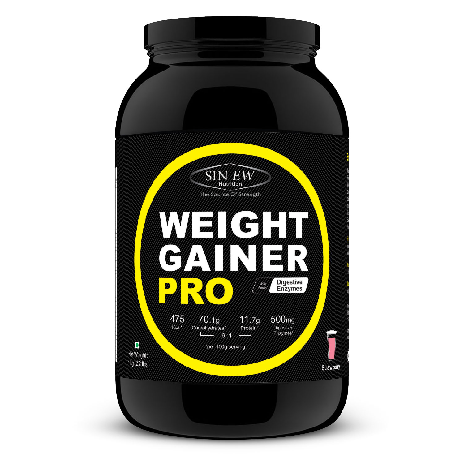 Weight Gainer Pro (strawberry) 1 F