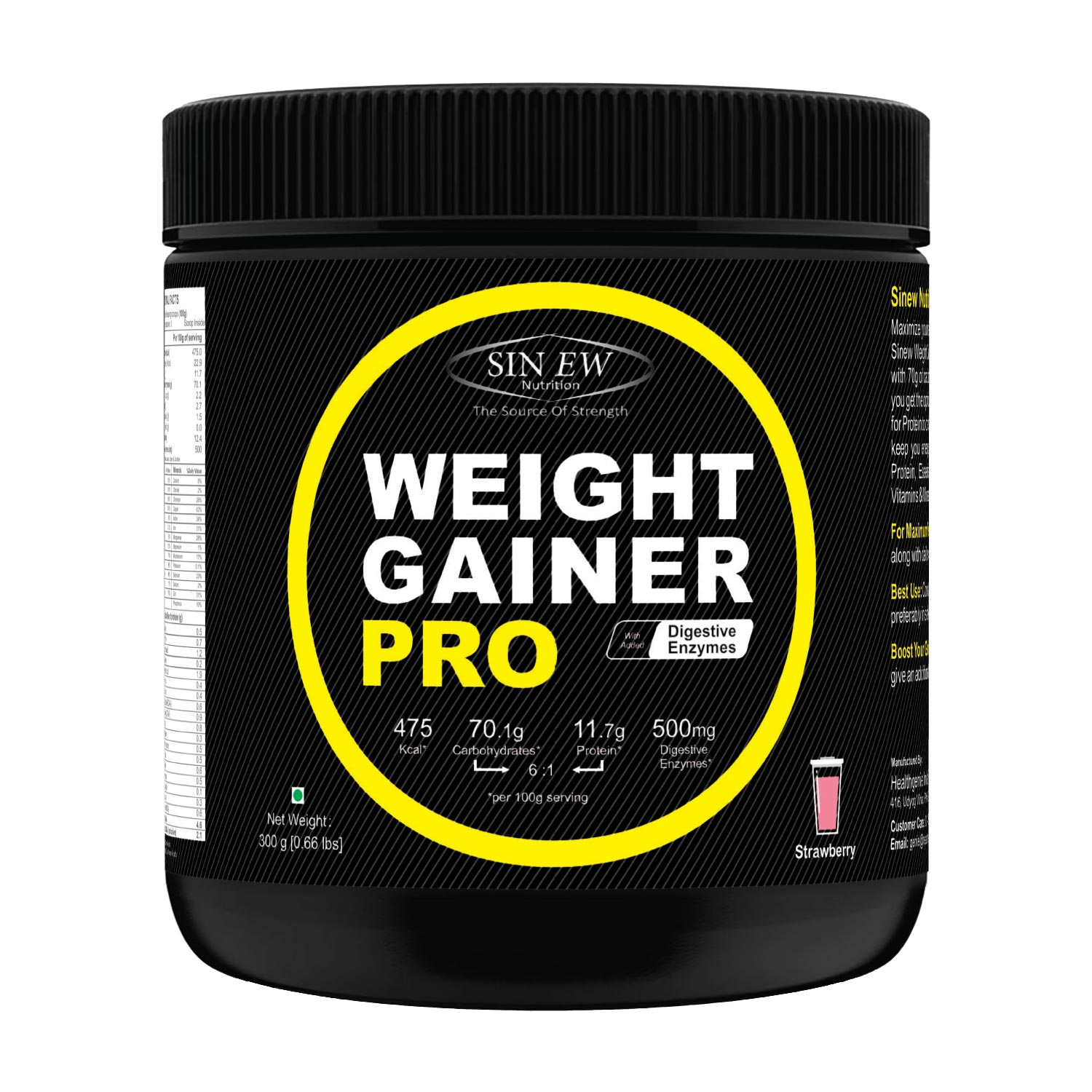 Weight Gainer Pro (strawberry) 300 F