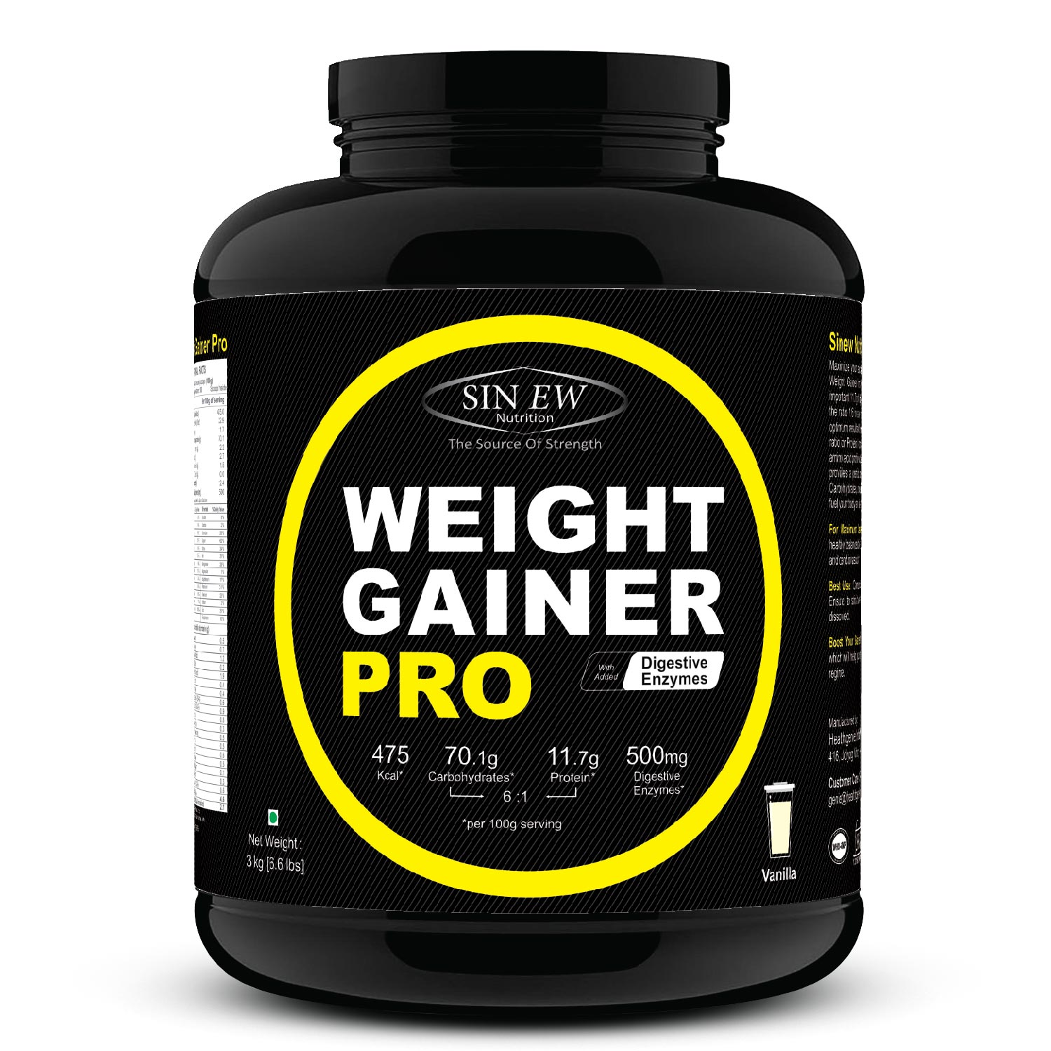 Weight Gainer Pro (vanilla) 3 F