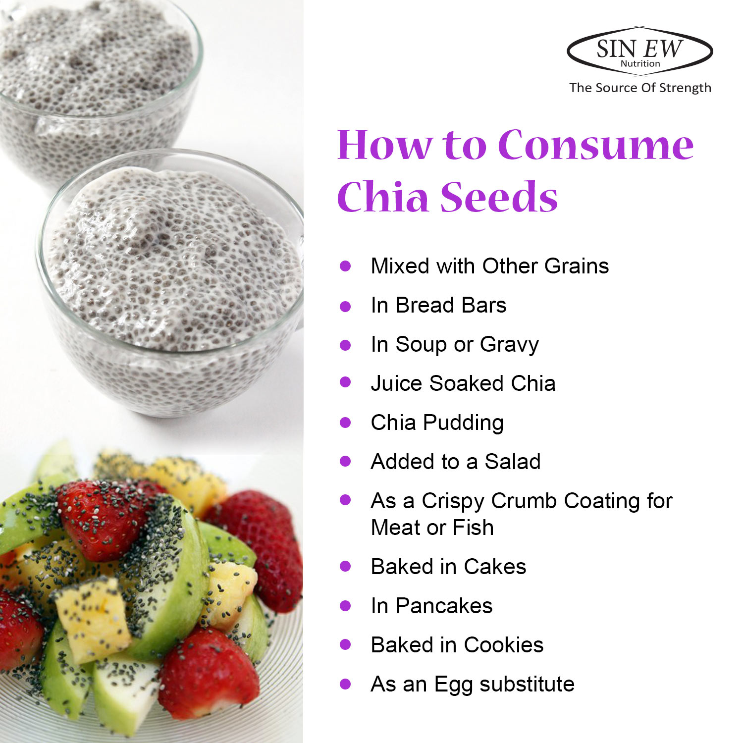 How To Consume Chia Seeds