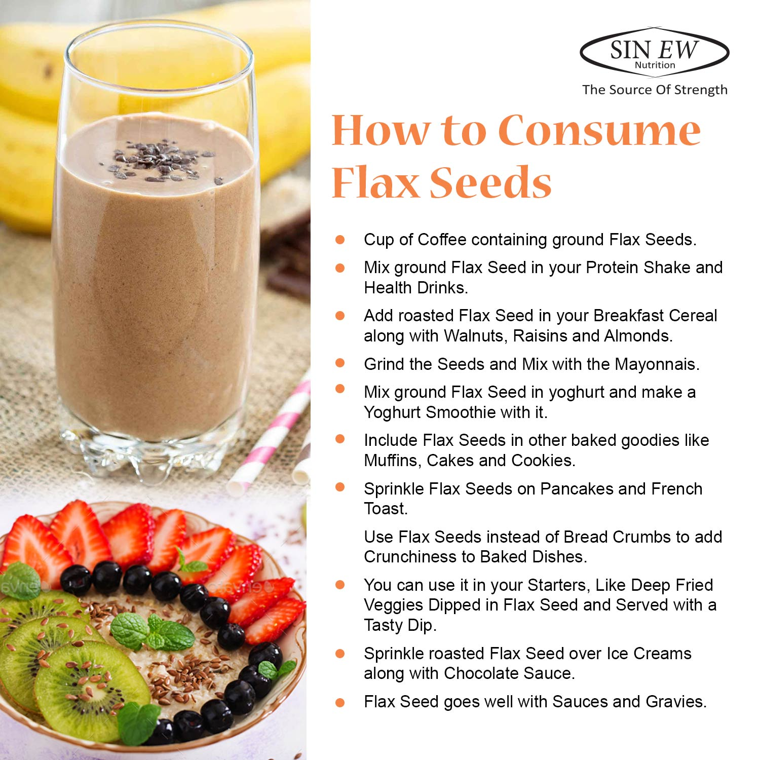 How To Consume Flax Seeds