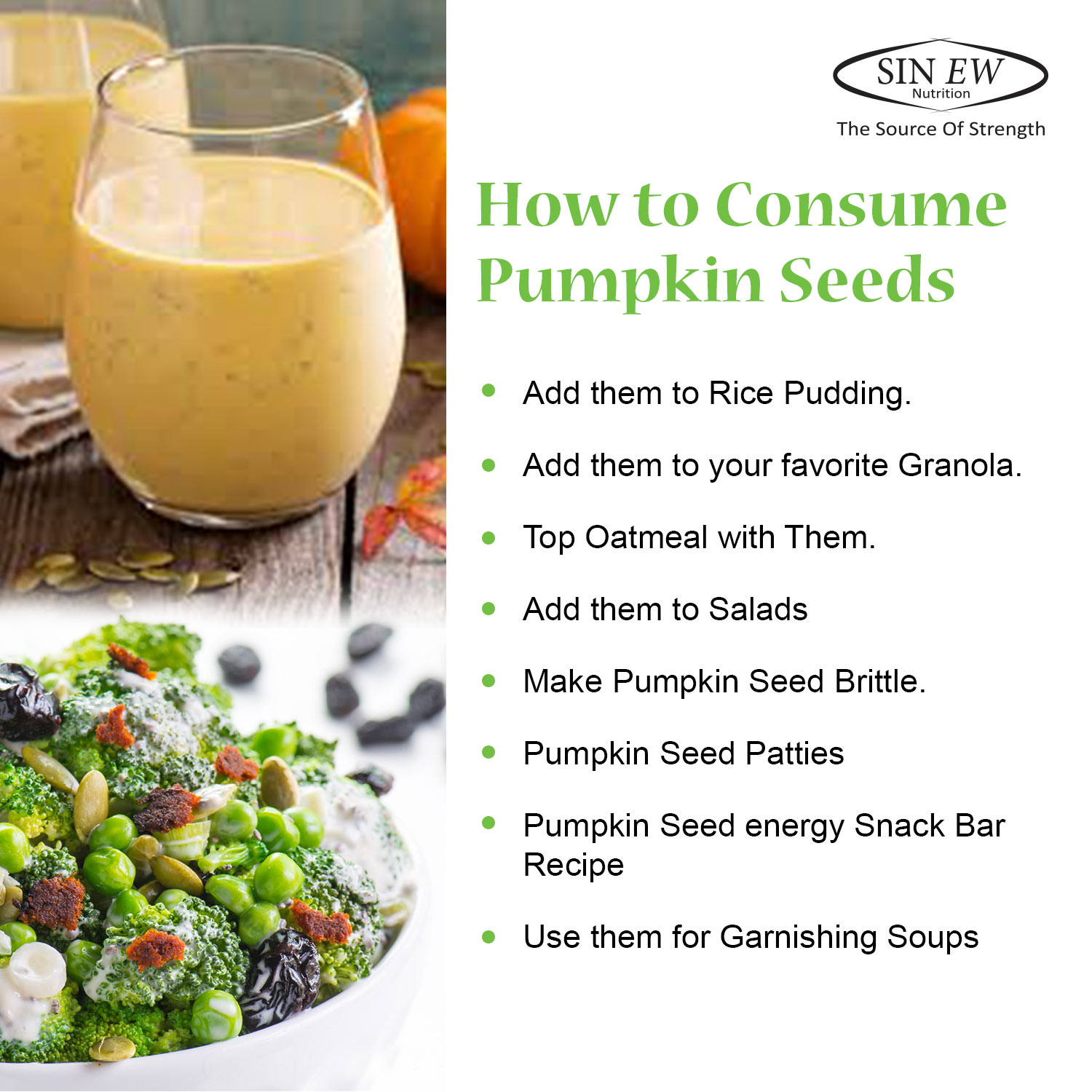 How To Consume Pumpkin Seeds