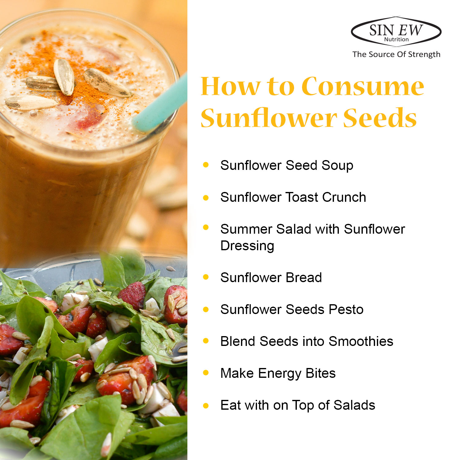 How To Consume Sunflower Seeds
