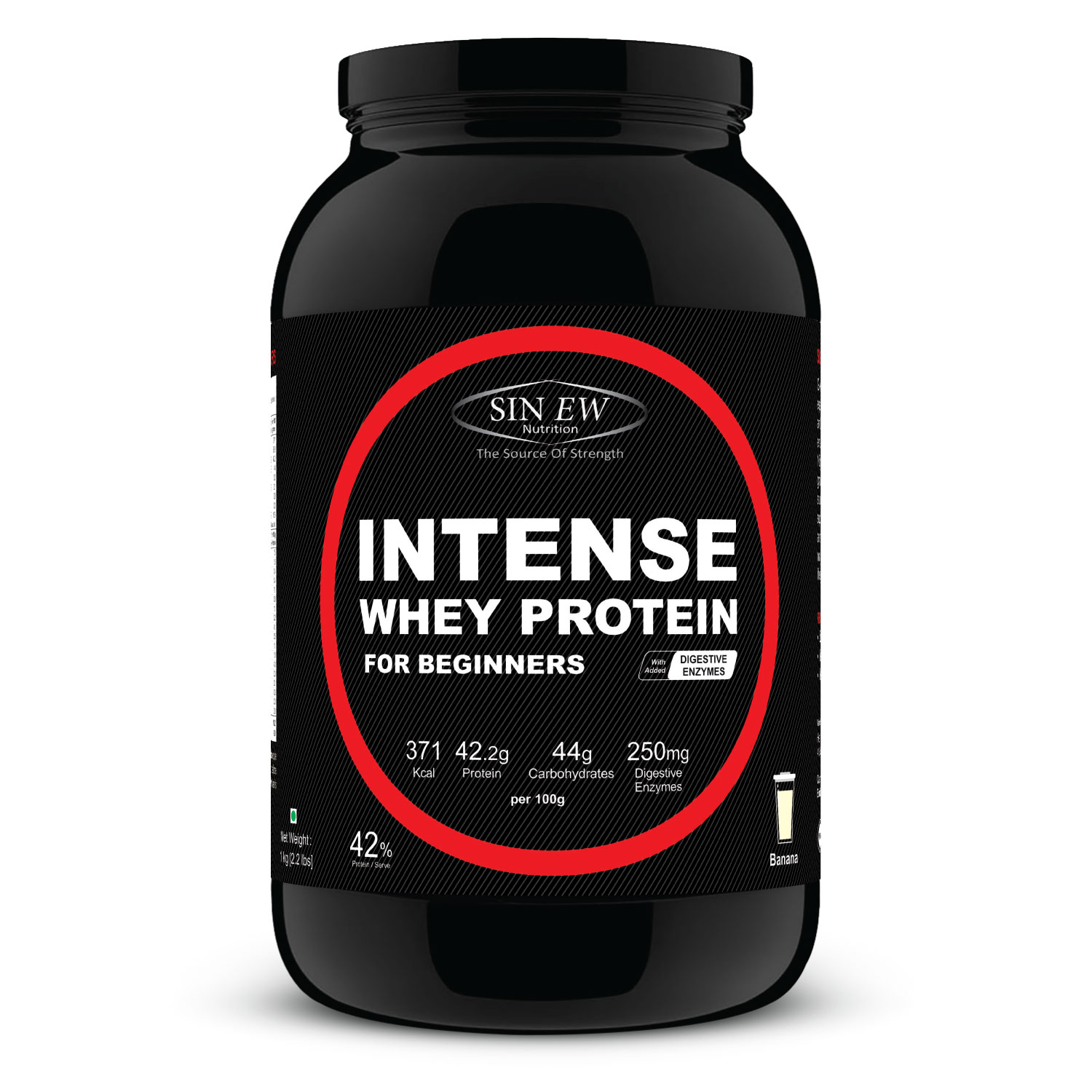 Intense For Beginners (banana) 1kg F