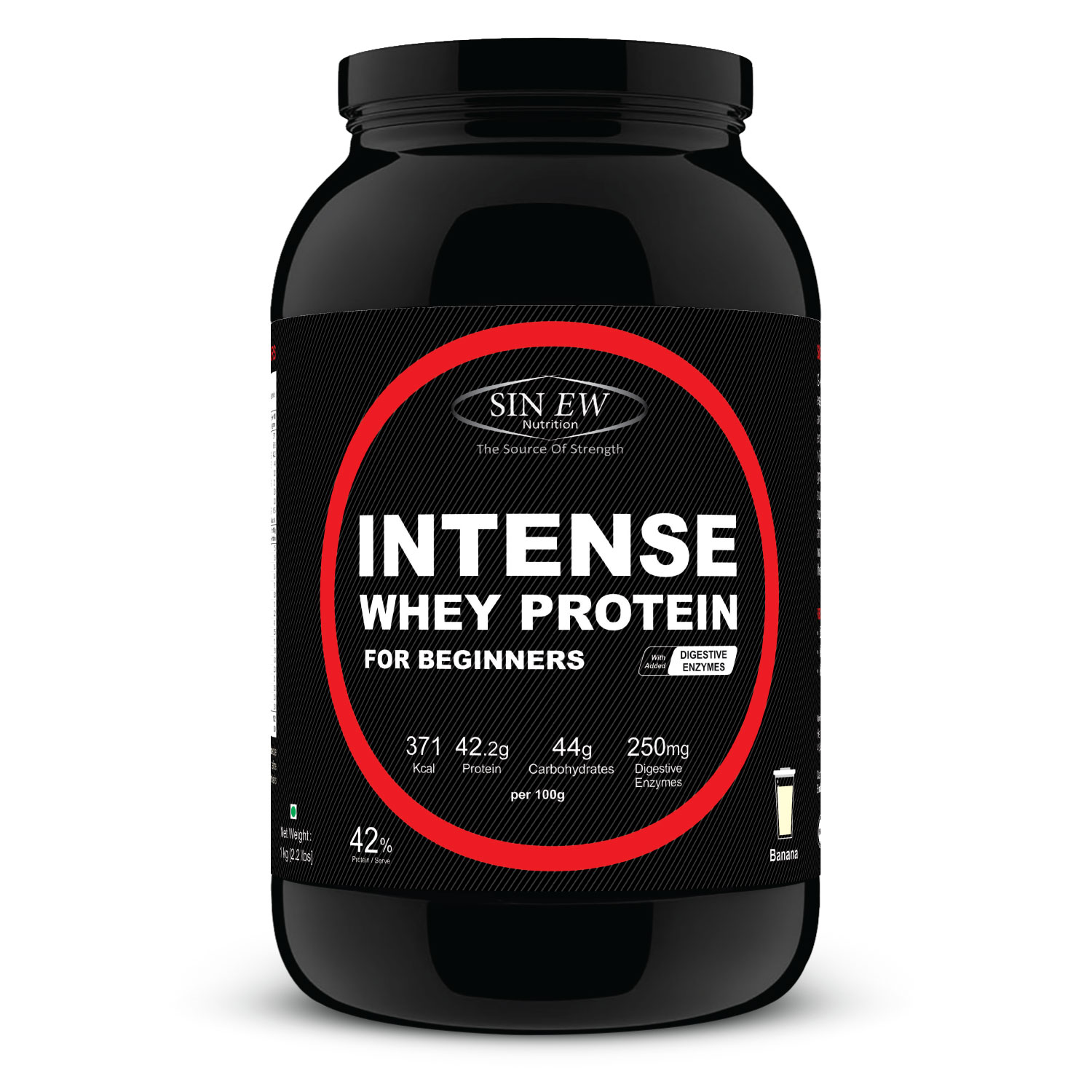Intense For Beginners (butterscotch) 1kg F