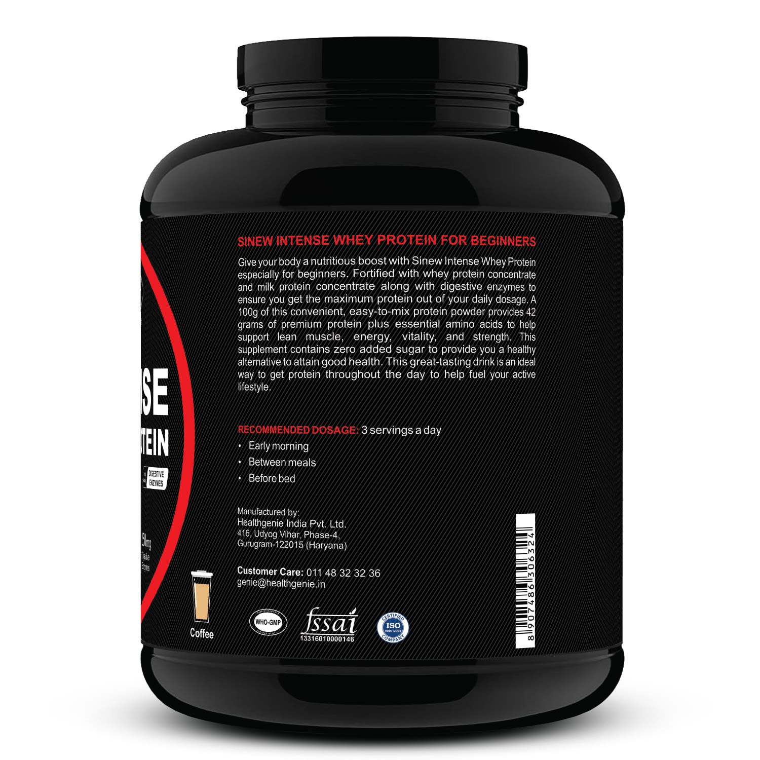 Intense For Beginners (coffee) 2kg R