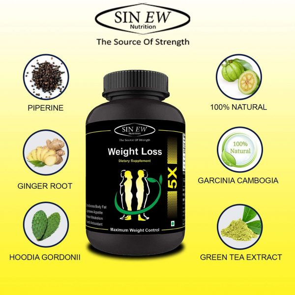Buy Sinew Nutrition Weight Loss 5x Garcinia Cambogia Extract