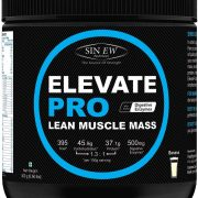 Sinew Nutrition Elevate Pro Lean Muscle Mass Gainer Protein Powder With Digestive Enzymes