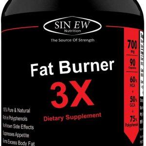 Sinew Nutrition Natural Fat Burner 3x 90 Cap Product