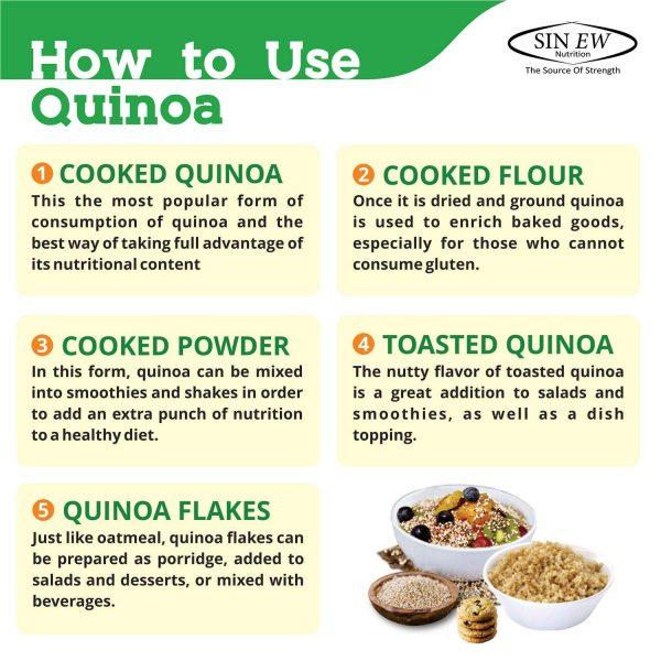 Quinoa Seeds 1kg Gal3